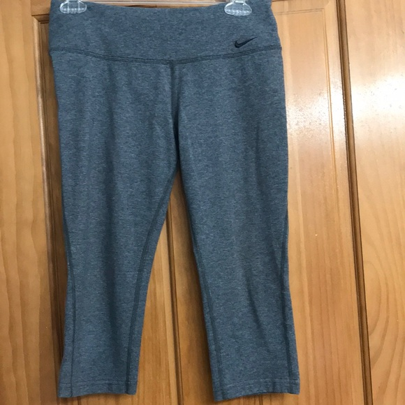Nike Dri Fit heather grey women's size small